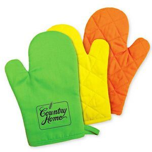 Insulated 100% Cotton Oven Mitt
