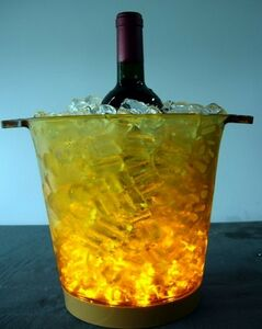 Ice bucket with 5 LED Lights