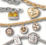 Custom Sterling Silver Charm Bracelets