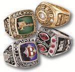 Custom Sterling Silver Athletic Rings