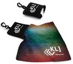 Custom Pouch and Full Color Opper Fiber Cloth - 1-Color