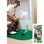 Custom Pot N Putt Bathroom Golf Putting Game