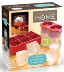 Custom Silicone Ice Block & Ice Ball Maker Set
