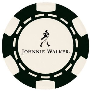 Custom Hot Stamped 6 Stripe ABS Composite Poker Chip (11.5 Gram)