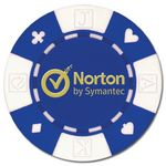 Custom Custom Hot Stamped Card Suited ABS Composite Poker Chip (11.5 Gram)