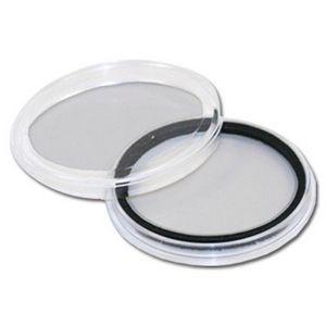 Custom Clear plastic Poker Chip/Coin Holder Capsules