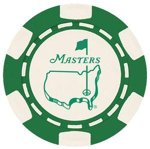 6 Stripe Custom Ball Marker Poker Chip - Foil Heat Stamped