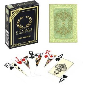 DA VINCI Plastic playing cards - Persiano - Poker Size, Large Index