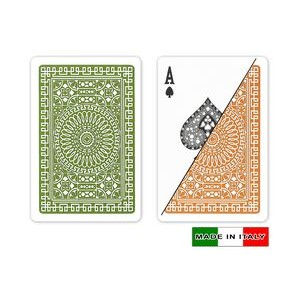 DA VINCI Plastic playing cards - Palermo - Bridge Size, Normal Index