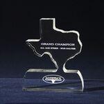 Custom Texas State All-In-One Award