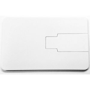 4 GB Credit Card Flip Flash Drive