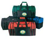 Custom Double Zipper Duffel Bag (21