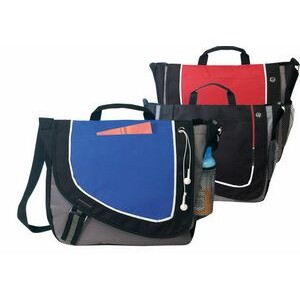 "Poly Messenger Bag (14""x12""x3½"")"