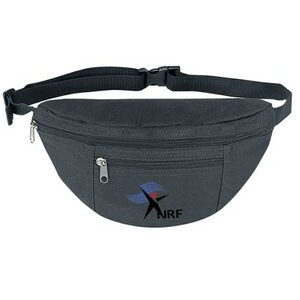 Poly 2 Zipper Fanny Pack
