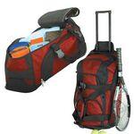 Custom Navigator Rolling Duffel Bag w/ 4 Pockets