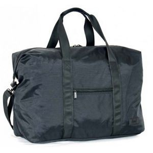"20"" U-Zip Ballistic Nylon Folding Tote Bag"