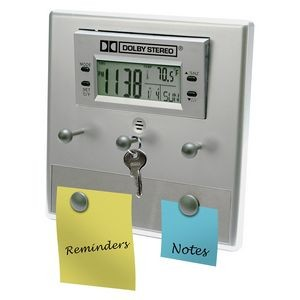 LCD Alarm Clock & Office Assistant