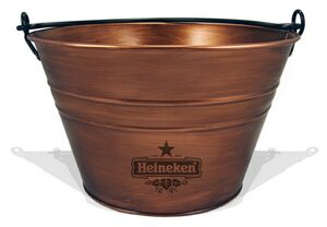 Copper Finish Antique Bucket
