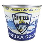 Custom Fast Full Wrap 5qt Beverage Bucket