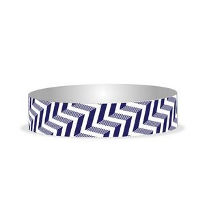 "Preprinted 3/4"" Chevron Tyvek Bands"