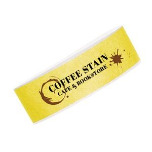 "3/4"" Full Color Tyvek Wristband"