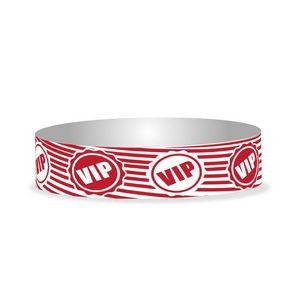 "Preprinted 3/4"" VIP Tyvek Bands"