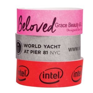 "Custom Tyvek Event Wristband (3/4"")"