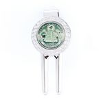 Custom Divot Tool with Removable Ball Marker