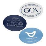 Custom Waterproof Oval Custom Stickers (2