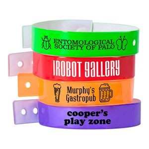 L-Shaped Vinyl Wristbands