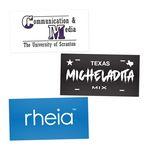 Custom Rectangle Custom Stickers 2