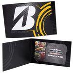 Custom Custom Card Carriers - Horizontal Folded Card Carrier
