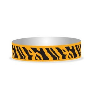 "Preprinted 3/4"" Zebra Tyvek Bands"