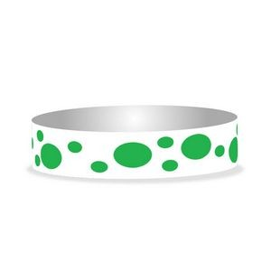 "Preprinted 3/4"" Dots Tyvek Bands"