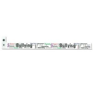 Pre Printed Bullying Wristband 3/4""