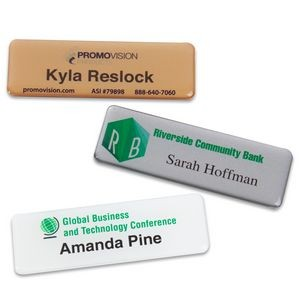 PVC Name Badges 1x3