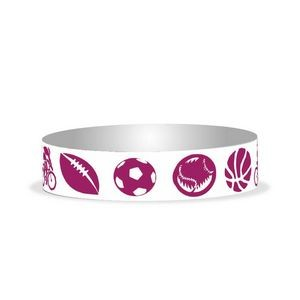 "Preprinted 3/4"" Sports Tyvek Bands"