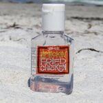 Custom 1/2 Oz. Anti Bacterial Hand Sanitizer (Square Bottle)