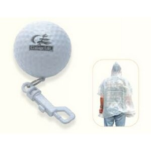 Golf Poncho w/ Belt Clip