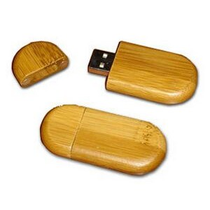 Bamboo Style 3 Flash Drive (256MB)
