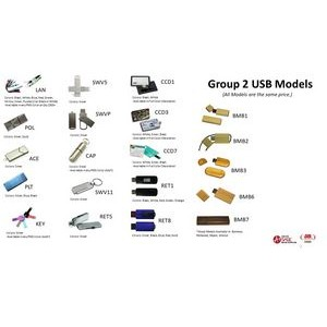 8GB USB's/Group 2 -All the same price!