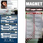 Custom Tampa Bay Pro Baseball Schedule Magnet (3 1/2