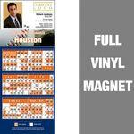 Custom Houston Pro Baseball Schedule Vinyl Magnet (3 1/2