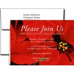 Custom Holiday Invitations w/Imprinted Envelopes