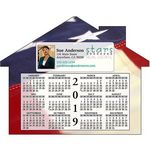 Custom Calendar House Shape Magnet (5