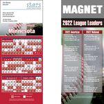Custom Minnesota Pro Baseball Schedule Magnet (3 1/2