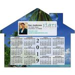 Custom Calendar House Shape Magnet