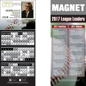 "Chicago (American) Pro Baseball Schedule Magnet (3 1/2""x8 1/2"")"