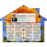 Custom Calendar House Shape Magnet (5