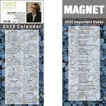 Custom Full Color Calendar Magnet